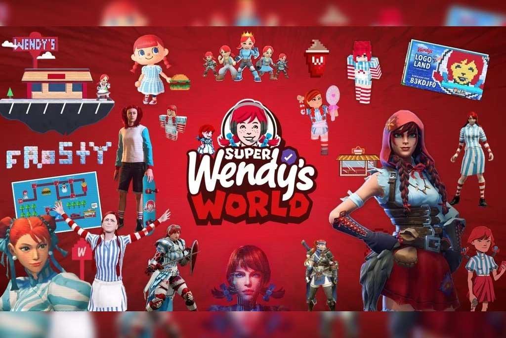Alist - Wendy's, 'Super Wendy's World', VMLY&R